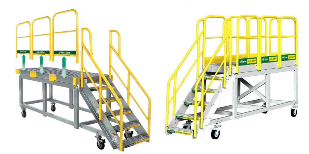 Mp series 1030x515 Rolling Stairs and Work Platforms