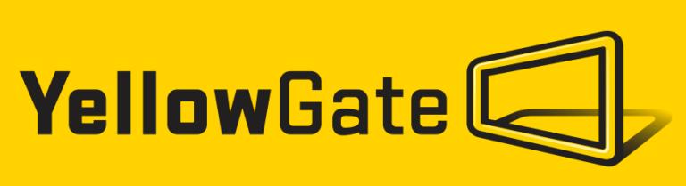 Yellow gate banner YellowGate